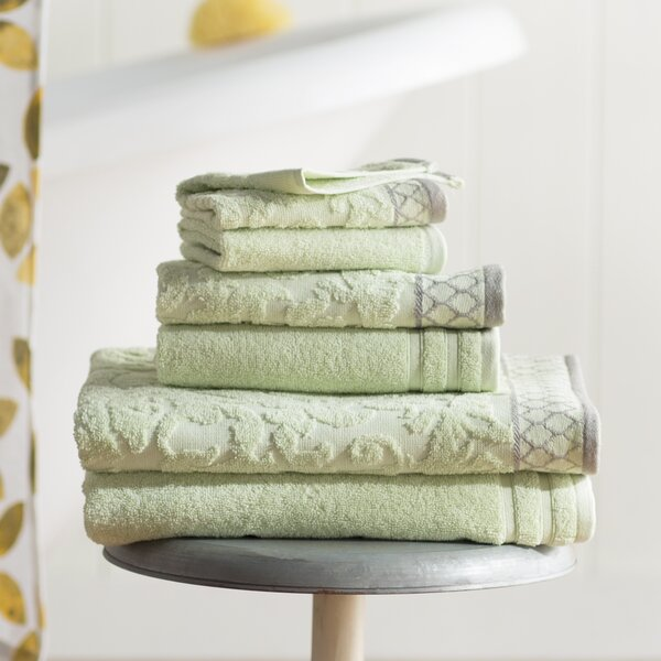 Errol 6 Piece 100% Cotton Towel Set by The Twillery Co.